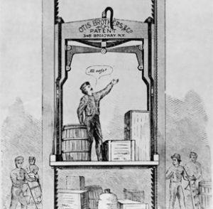 تاریخچه آسانسور در جهان