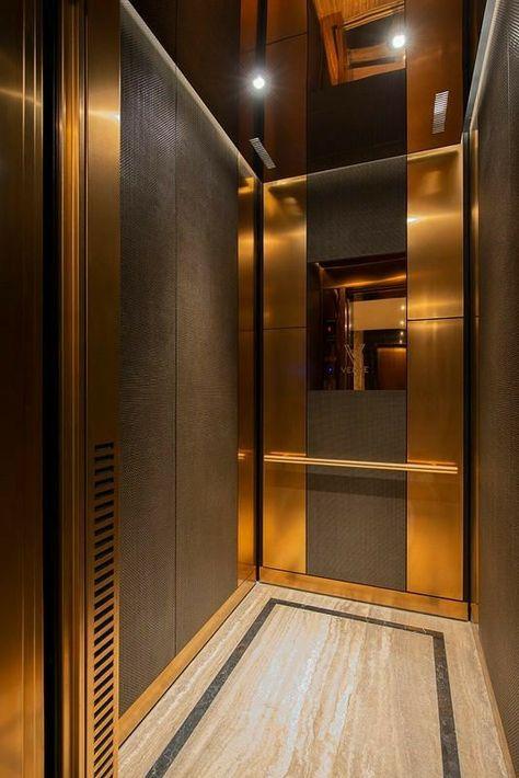 کفپوش سنگی آسانسور