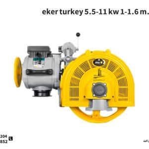موتور گیربکس اکر ترکیه با تنوع ظرفیت توان و سرعت