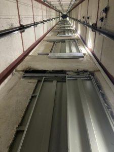 چاه آسانسور ٨ نفره
