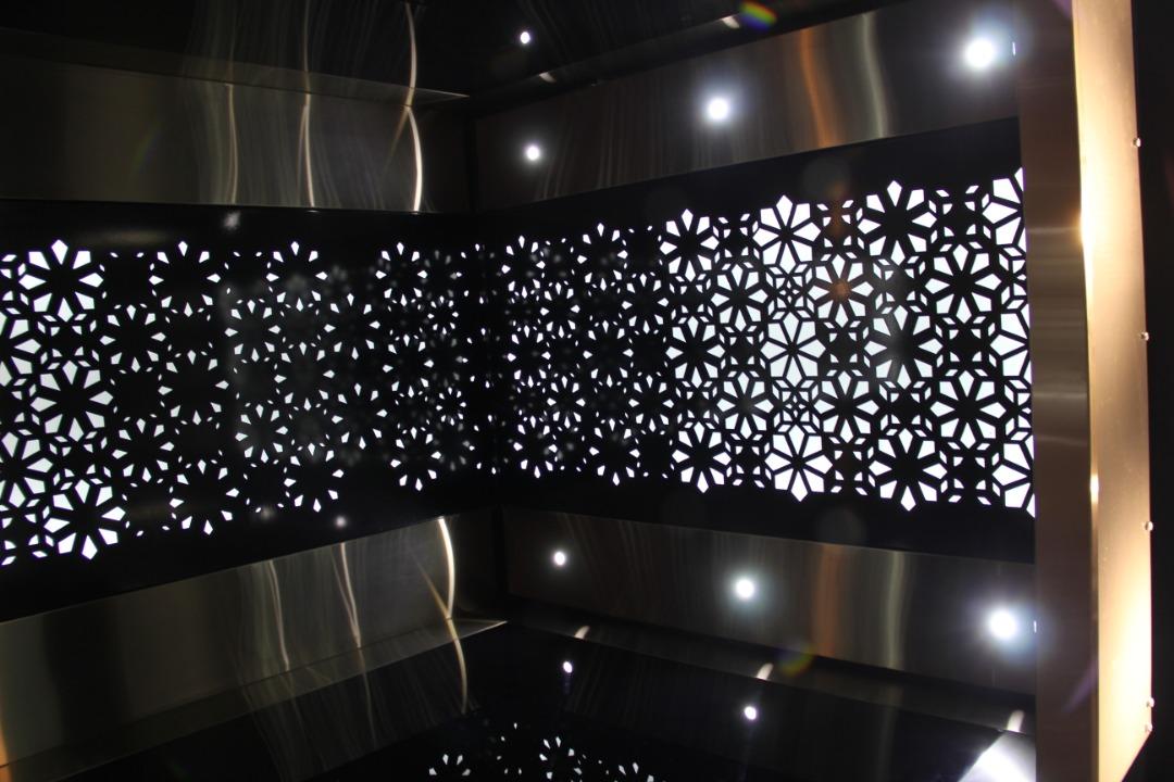 تزئین اتاق آسانسور