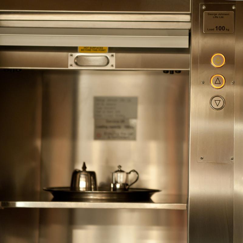 آسانسور آشپزخانه ای یا آسانسور غذا بر