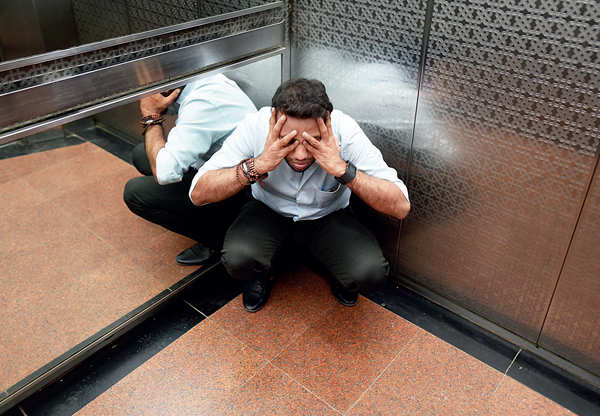 ترس از آسانسور